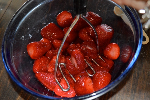 Mashed Strawberries