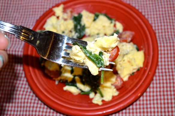 Egg Scramble Forkful