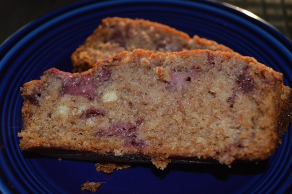 Strawberry Bread Slices